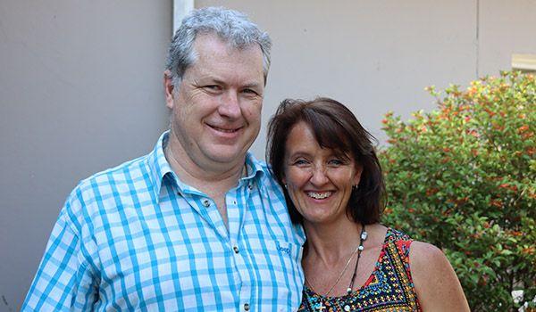 Derek and Margit Landman