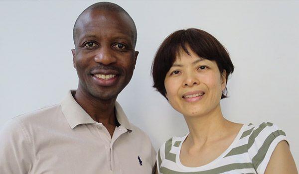 Jacob and Terumi Ngandu