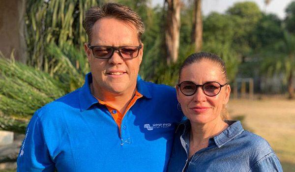 Scott and Dustine Smith